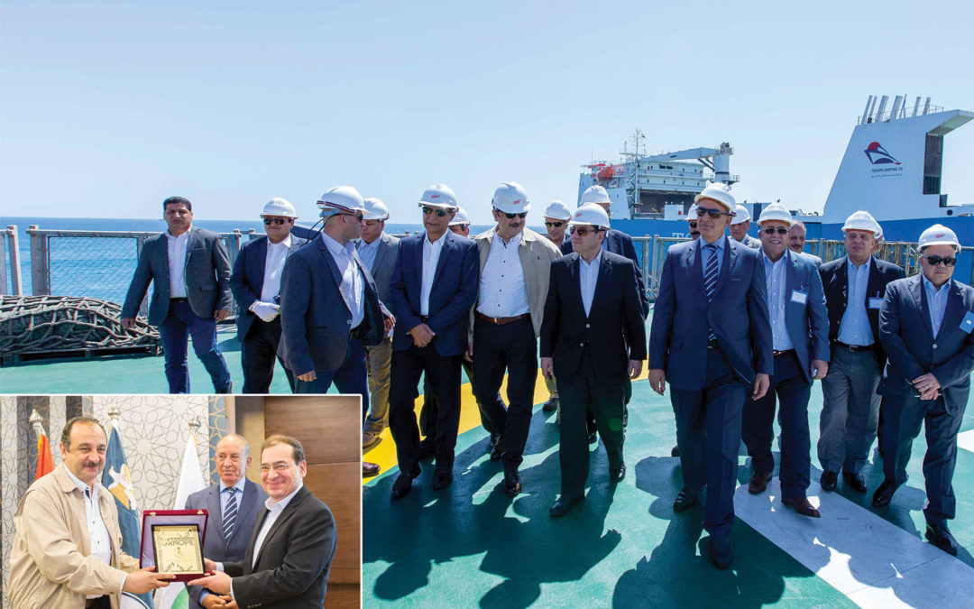 Minister of Petroleum and Mineral Resources visits the operations of the Geophysical Data Collection Project in the Red Sea
